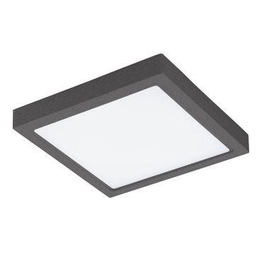 LED Outdoor Deckenleuchte ARGOLIS anthrazit weiss L:30cm B:30cm H:4cm IP44