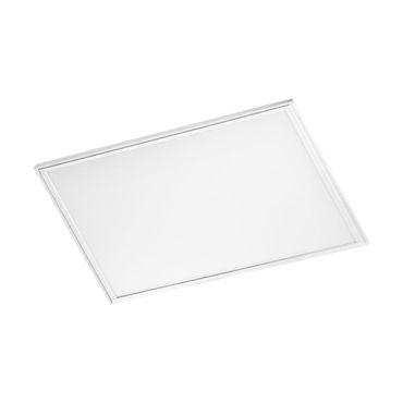 EGLO Deckenleuchte LED-Panel SALOBRENA 2  - Alu, weiss / Kunststoff weiss LxB: 45 x 45cm H: 1,1cm dimmbar