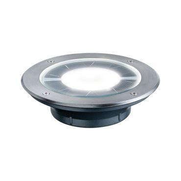 Bodeneinbauleuchten-Set Solar Pandora LED Edelstahl, 1er Set 937.76