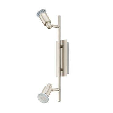 Eglo Spot LED  ERIDAN nickel-matt, GU10 max. 2X5W