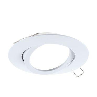Einbauleuchte TEDO Ø 8cm dimmbar in weiss