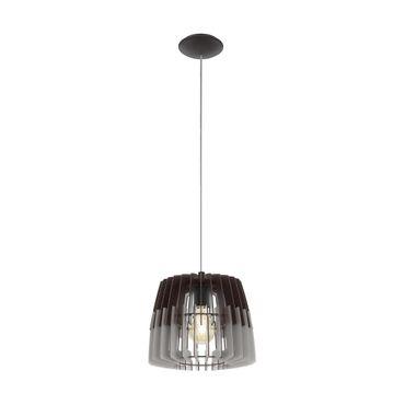 Hängeleuchte Lamellenlampe ARTANA Ø 30cm dimmbar in grau, schwarz