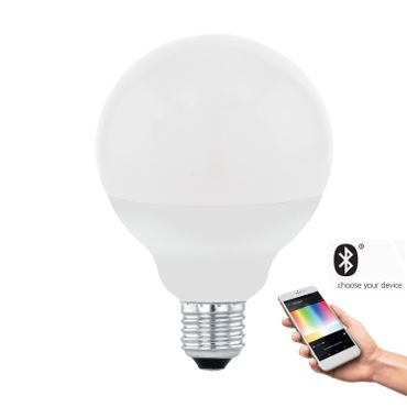 Smart Light E27 LED Leuchtmittel EGLO CONNECT Ø 9,5cm L: 13,6cm dimmbar