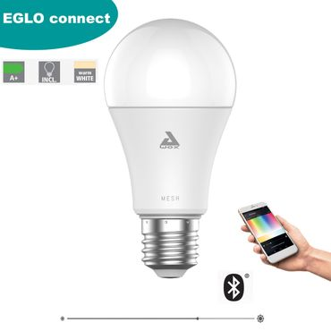 EGLO Connect Leuchtmittel BLE-E27-LED-A60 9W DIMMBAR 1STK