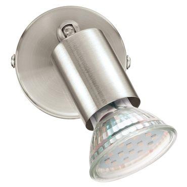 Eglo Spot LED  BUZZ-LED nickel-matt, GU10 max. 1X3W