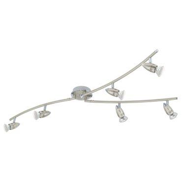Eglo Spot LED  MAGNUM-LED nickel-matt, chrom, GU10 max. 6X3W
