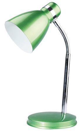 Schreibtischleuchte Patric aus Metall Metall grün/chrom B:22cm H:32cm mit eingebautem Schalter