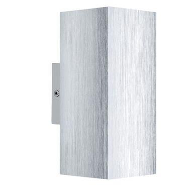 Eglo Wandleuchte LED MADRAS 2 alu, GU10 max. 2X3W