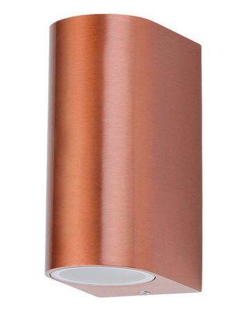 Außenleuchte Wandleuchte Chile aus Metall Glas kupfer L:9,4cm B:6,5cm H:14,5cm IP44