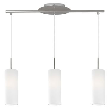 Eglo Modern LED TROY 4 nickel-matt, E27 max. 3X7W