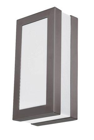 Außen Wand-/Deckenleuchte Stuttgart aus Metall Kunststoff anthrazit grau L:8,5cm B:12,5cm H:25cm IP44