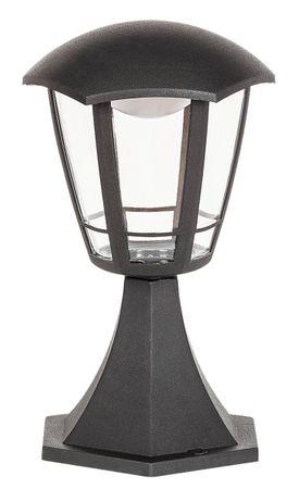 Außenleuchte Stehleuchte Sorrento aus Kunststoff Kunststoff matt schwarz  Ø16,5cm H:30cm IP44