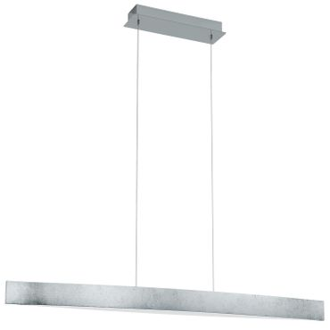 Eglo Modern LED FORNES silber, weiss, LED max. 24W
