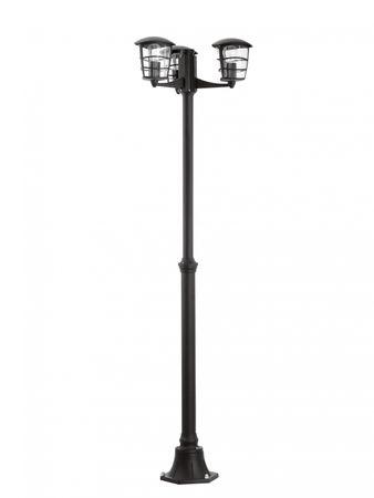 Eglo Aussenleuchte ALORIA schwarz, E27 max. 3X60W