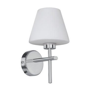 LED Wandleuchte FRISCOLI chrom weiss L:14,5cm H:27cm T:17,5cm IP44