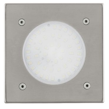 Eglo Aussen-Einbau LED LAMEDO edelstahl, LED max. 1X2,5W