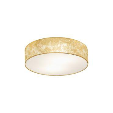 Deckenleuchte VISERBELLA champagner gold Ø38cm H:11cm
