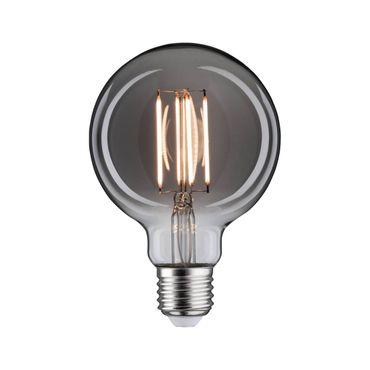 LED Vintage Globe 95 8 Watt E27 Rauchglas Goldlicht dimmbar 286.08