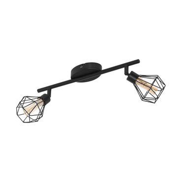 Spotleuchte LED ZAPATA 1 schwarz amber L:36cm B:6,5cm