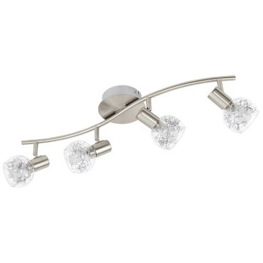 Eglo Spot LED BASENTO nickel-matt, LED max. 4X5W