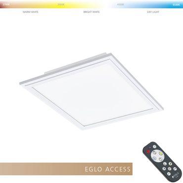 Eglo Access LED Deckenleuchte SALOBRENA-A in weiss L:30cm B:30cm H:5cm