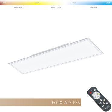 Eglo Access LED Deckenleuchte SALOBRENA-A in weiss L:120cm B:30cm H:5cm