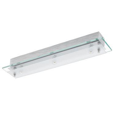 Eglo Wandleuchte/Deckenleuchte LED FRES 2 chrom, LED max. 3X5,4W