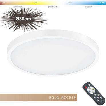Eglo Access LED Aufbauleuchte FUEVA-A in weiss Ø30cm H:3cm
