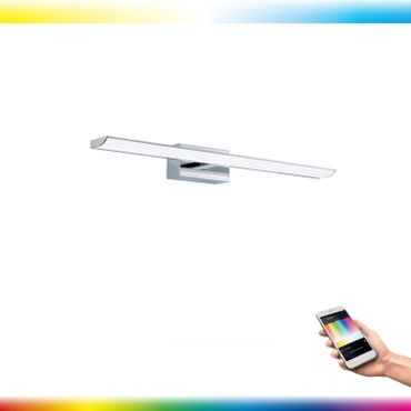 LED TABIANO-C chrom weiss L:90,5cm H:7cm T:13cm IP44 mit Connect Funktion