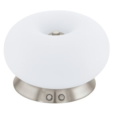 Eglo Tischleuchte LED OPTICA 3 nickel-matt, LED max. 16W