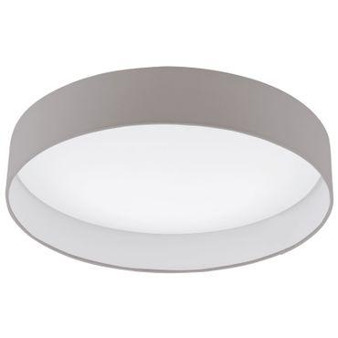Eglo LED Deckenleuchte PALOMARO in taupe, LED max. 24W Ø 50cm 3000K
