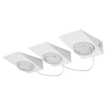 3 er-Set Küchenleuchte KOB 1 weiss  L:17cm B:9,5cm T:6,2cm