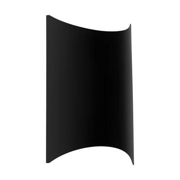 LED Outdoor Deckenleuchte LAGASCO schwarz  L:18,5cm H:27,5cm T:8,5cm IP44