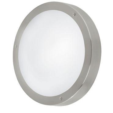 Eglo Aussen Wand-/Deckenleuchte LED VENTO 1 edelstahl, LED max. 3X2,5W