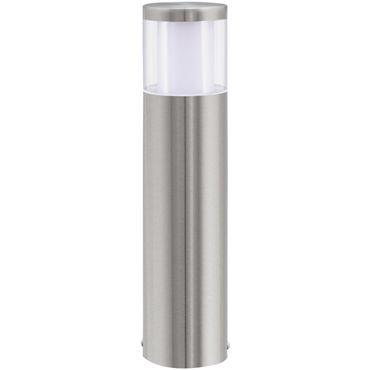 Eglo Aussen-LED BASALGO 1 edelstahl, LED max. 1X3,7W