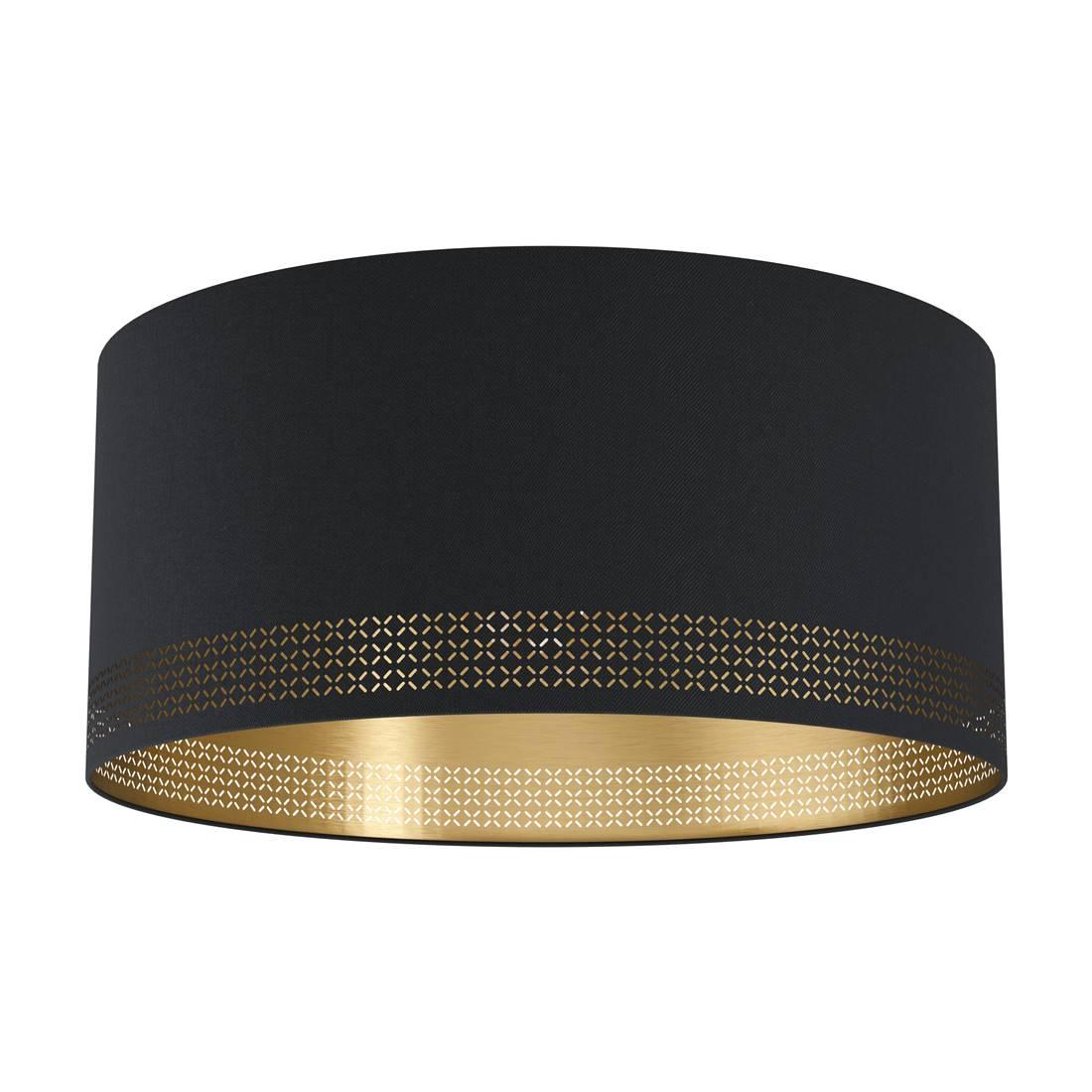 Deckenleuchte ESTEPERRA schwarz, gold H24 Ø47,5cm dimmbar   Lampen und Leuchten   myLeuchte.com