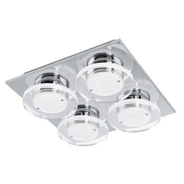 Eglo Wandleuchte/Deckenleuchte LED CISTERNO chrom, LED max. 4X4,5W