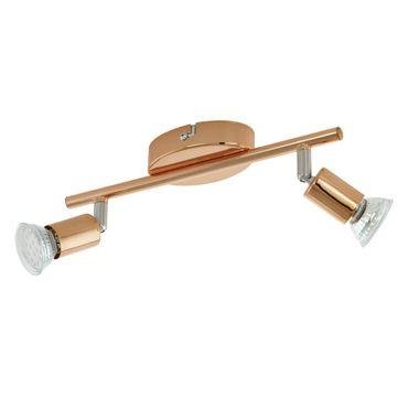 Eglo Spot LED BUZZ-COPPER kupfer, nickel-matt, GU10 max. 2X3W