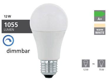LED Lampe E27 Birne A60 12W/1055lm 3000K 1 STK Dimmbar
