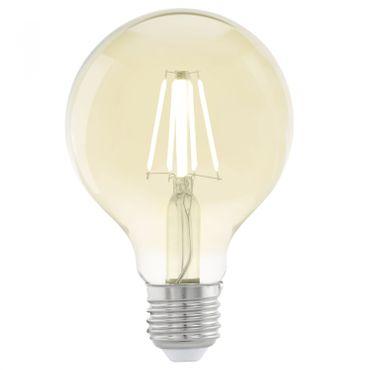 LED Lampe E27 VINTAGE AMBER GLOBE G80 4W/330lm 2200K 1 STK