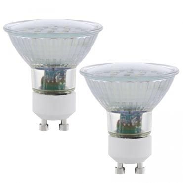 LED Lampe GU10 SPOT SMD 5W/400lm 4000K 2erSET