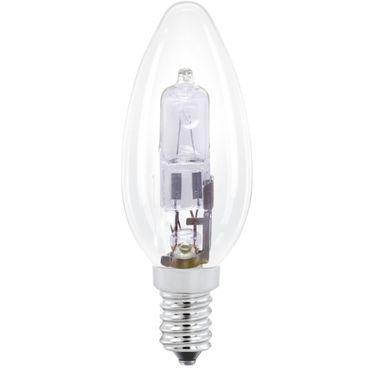 Halogenlampe KERZE E14 28W KLAR 4 STK