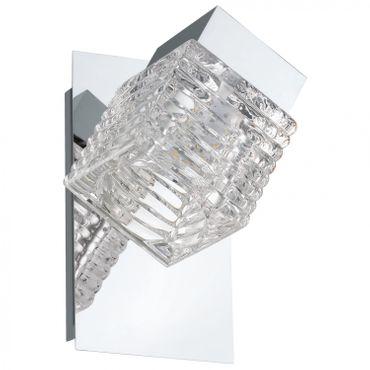 Wandleuchte QUARTO, LED, 1X4,5W, Wippschalter