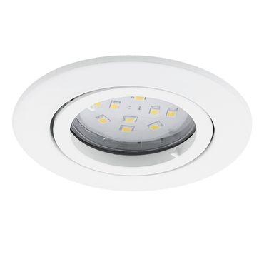 Eglo Wandleuchte/Deckenleuchte Einbau LED TEDO weiss, GU10 max. 1X5W