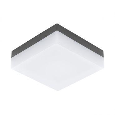 Aussenleuchte LED Wandleuchte/Deckenleuchte ANTHRAZIT/WEISS  SONELLA