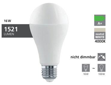 LED Lampe E27 BIRNE A65 16W/1521lm 4000K 1 STK