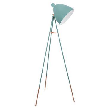 Dreibeinige Stehlampe DUNDEE mint, E27 max. 1X60W Höhe:135,5 cm