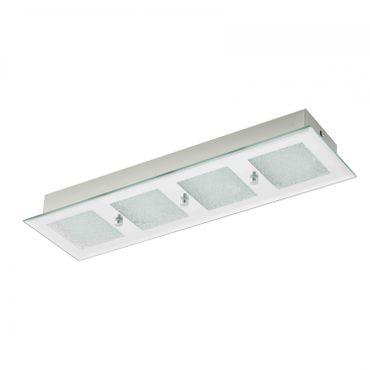 LED-Wandlampe/Deckenlampe/4 SPIEGEL/KRISTALL  PALLANTE