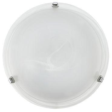 Eglo Wandleuchte/Deckenleuchte SALOME chrom, E27 max. 2X60W