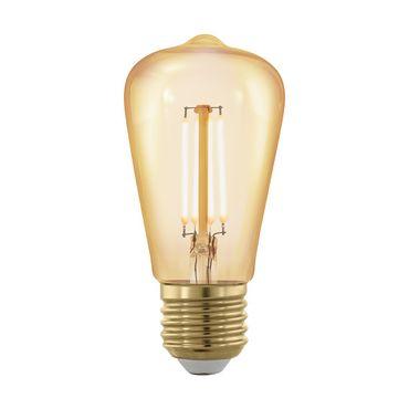 Leuchtmittel E27-LED ST48 4W AMBER 1700K 1STK